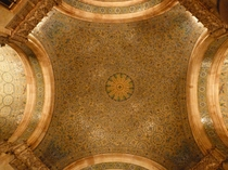 Ceiling of the Woolworth Building Lobby
