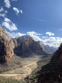 Celebrating my th with great friends and family and of course Zion National Park Utah