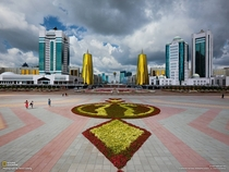 Central Astana Capital of Kazakhstan