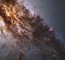 Central Centaurus A by NASA ESA Hubble Heritage STScI AURA-ESAHubble Collaboration