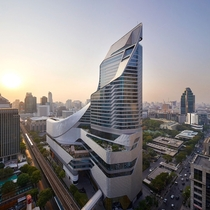 central embassy tower in bangkok