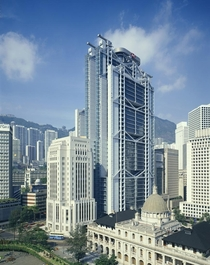 Central Hong Kong in the mid-s