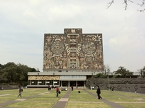 Central Library at the National Autonomous University of Mexico