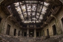 Central Office Steel Industry building in France Abandoned since