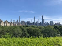 Central Park from The Met NYC