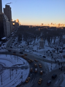 Central Park in NYC after the New Years Snowstorm