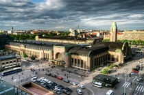 Central railway station Helsinki Finland