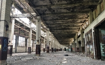 Central Terminal in Buffalo NY Abandoned since