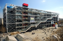 Centre Pompidou Paris France by Renzo Piano Richard Rogers and Gianfranco Franchini x