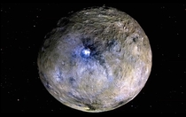 Ceres courtesy of The Planetary Society
