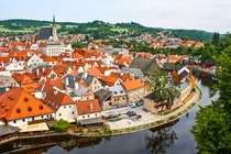 Cesky Krumlov Czech Republic - one of the best preserved little medieval towns in Europe
