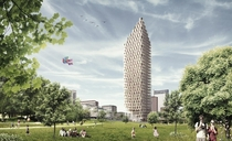 CF Mllers design for a -storey wooden skyscraper  would be the tallest timber building in the world