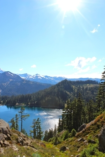 Chain Lakes North Cascades Washington