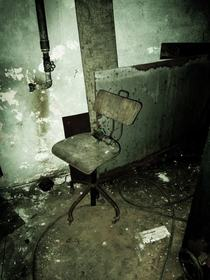 Chair in industrial building Denmark