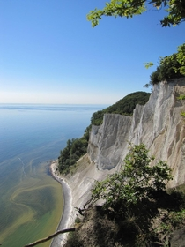 Chalk cliffs on the island of Mn Denmark