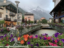 Chamonix Mont Blanc France - French Alps This was my favorite of many scenic photos from my trip to this beautiful lively town