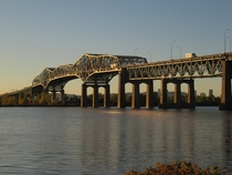Champlain Bridge from south shore