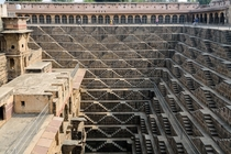 Chand Baori Stepwell in Rajasthan India