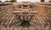 Chand Bawri Step Well Rajasthan India