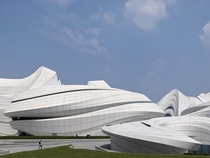 Changsha Meixihu International Culture and Art Centre  Zaha Hadid Architects
