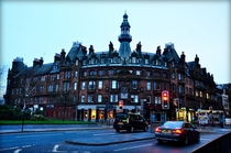 Charing Cross Mansions Glasgow - completed  One of the last surviving remnants of old Charing Cross following the construction of the M motorway through the city Photo credit to Patio Obrafotografia