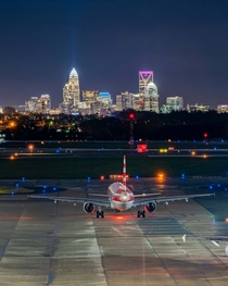 Charlotte from Charlotte-Douglas Airport