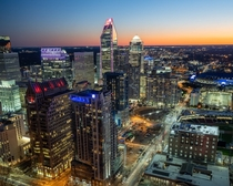 Charlotte NC from ft up