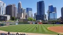 Charlotte North Carolina as seen from BBampT Ballpark