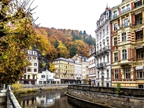 Charming Karlovy Vary Czech Republic