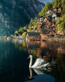Charming village of Hallstatt