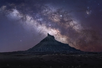 Chasing stars in the Badlands of Utah