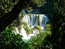 Chasing waterfalls in Croatia Krka National Park