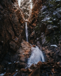Chasing Waterfalls Utah USA  jonnyhill_uk