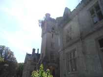 Chateau De Noisy during summer