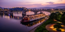 Chattanooga and the Tennessee River