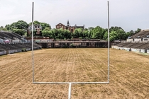 Check out this Abandoned College Football Stadium