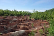 Cheltenham Badlands an unexpected scenic place thats just a  minute drive from the Toronto International Airport