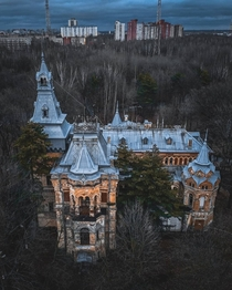 Chernovs Mansion Saint Petersburg Russia