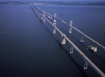 Chesapeake Bay Bridge from Annapolis to Marylands Eastern Shore by Carol M Highsmith between  and