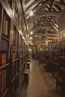Chethams Library in Manchester England