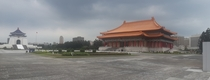 Chiang Kai-shek Memorial Hall in Taipei Taiwan By Yang Cho-cheng