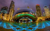 Chicago and the chrome cloud gate