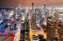 Chicago at Night -