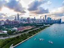 Chicago during Lollapalooza  x - Craig Vander Galien