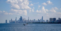 Chicago from afar