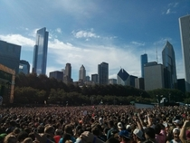 Chicago from Lollapalooza