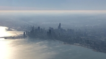 Chicago from my plane