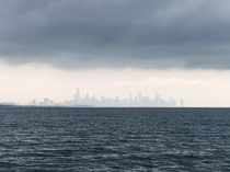 Chicago from offshore