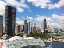Chicago from the Navy Pier ferris wheel
