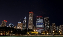 Chicago IL supporting the USA